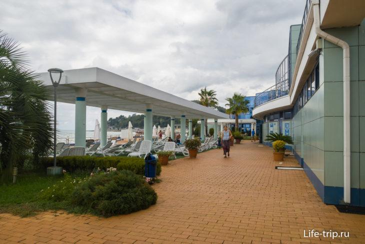 Пляж Голубая Горка в Хосте - мечты сбываются