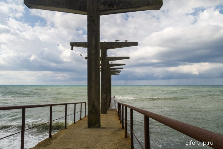 Красный Штурм - секретный пляж в Сочи