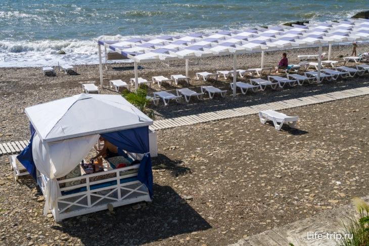 Мацеста - городской пляж