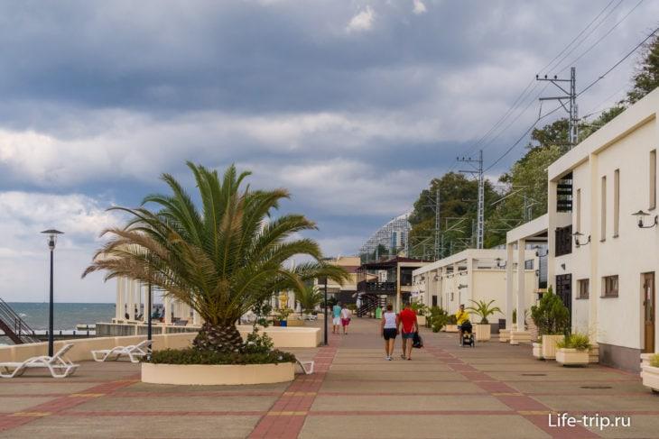 Пляж санатория Зеленая Роща