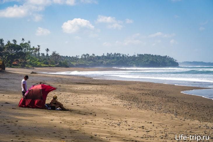 Пляж Балиан Бич на Бали