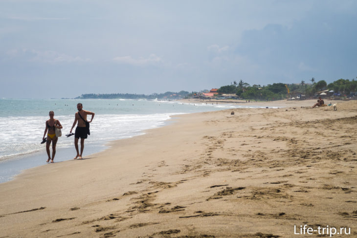 Пляж Брава на Бали