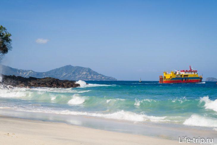 Пляж Secret Beach Bias Tugel