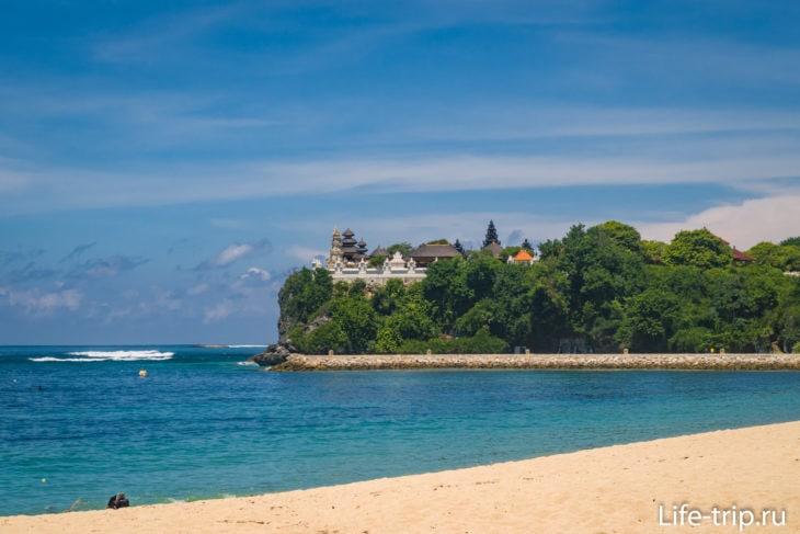 Пляж Нуса Дуа - Гегер на Бали