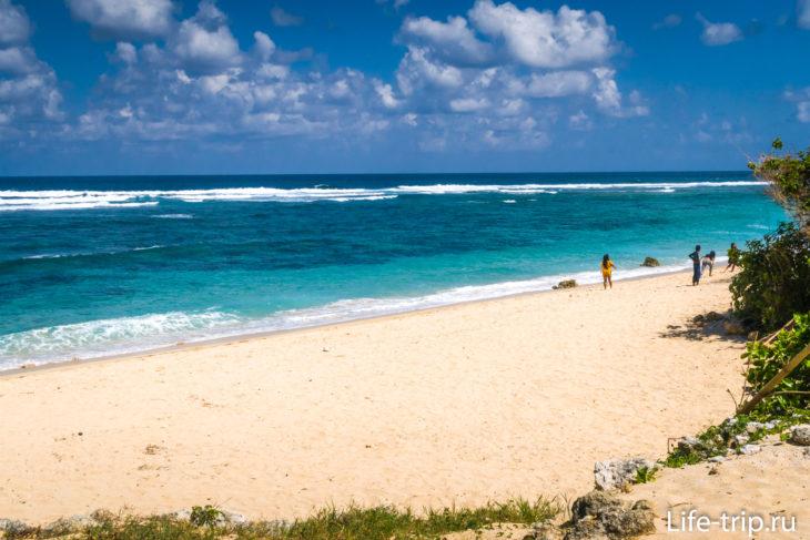 Пляж Гунунг Паюнг на Бали