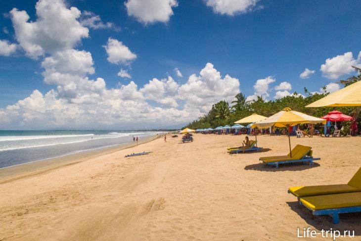 Пляж Кута на Бали
