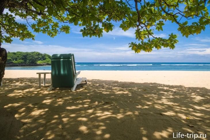Пляж Нуса Дуа - Менгиат на Бали
