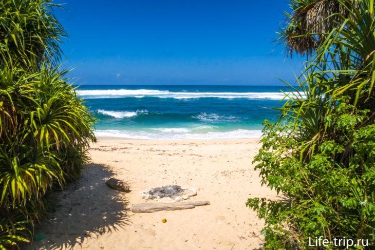 Пляж Ньянг-Ньянг на Бали