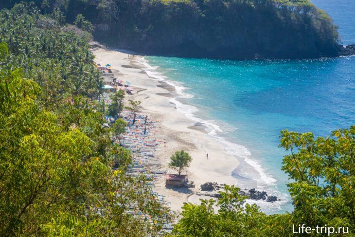 Пляж Пантай Пасир Путих на Бали
