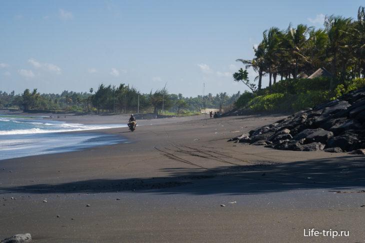 Пляж Керамас на Бали (Keramas Beach Bali)