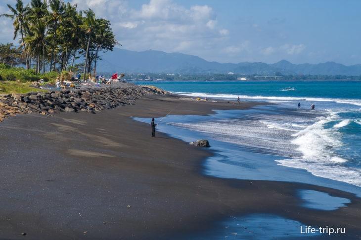 Пляж Масчети на Бали