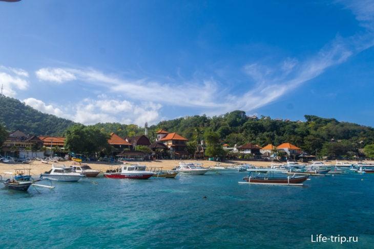 Пляж Паданг Бай (Padang Bai Beach) на Бали